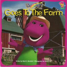 Reading Barney Books to Children, A Great way to Grow a Child's Imagination