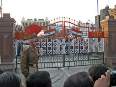It is an only road border crossing between India and Pakistan. It separates Amritsar from Lahore.Every evening, the flag ceremony is hosted at the border and it is attended by the visitors from Both India and Pakistsan.
