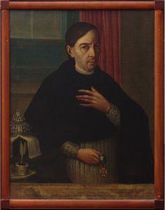 Anónimo novohispano, Retrato de don Ignacio Ramón Moreno Fernández de Lara, óleo sobre tela, 73 x 93 cm., ca. 1795-1810, colección particular, catalogación: Juan Carlos Cancino.
