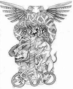 Yggdrasil by JenTheRipper