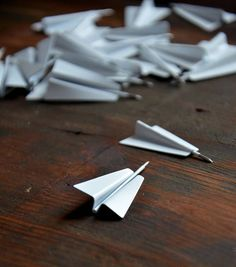 Push Pins Metal Set of 30 Plane Shaped Map Pins Travel Office