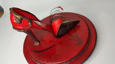 Orient Inspired Sugar Shoe - Cake by Lesi Lambert - Lambert Academy of Sugar Craft