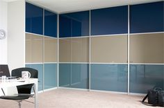 Sliderobes fitted sliding door wardrobes black glass wood