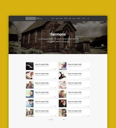 Exodos is a modern looking WordPress theme built to improve the Church Websites across the globe. It can be used by any religion website. It comes with donations, events, sermons, pastors and many other niche blocks. Church Sermon, Wordpress Theme, Globe, Religion, Things To Come, Events, Website, Modern, Design