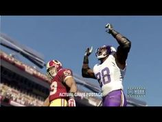 Game video of Adrian Peterson in Madden 25.
