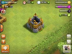 Dark Barracks - Clash Of Clans Guide Clas Of Clan, Cartoon House, Clash Royale, Game Design, Game Art, Projects To Try, Tower, 1