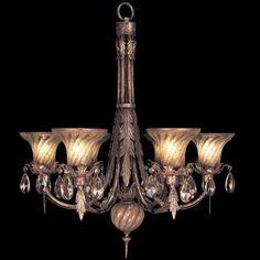 Fine Art Lamps A Midsummer Nights Dream 146942ST Six-Light 30'' Wide Grand Chandelier | FA146942ST