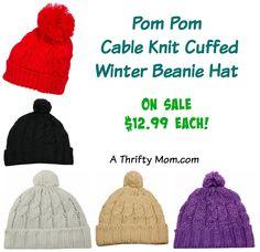 Pom Pom Cable Knit C