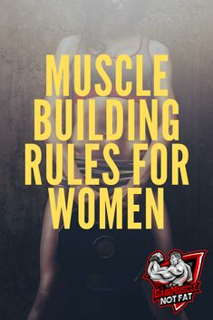 Are you a woman looking to build muscle mass and strength? If so then you will want to check out these muscle building rules for women. Increase Muscle Mass, Build Muscle Mass, Muscle Building, Fitness Goals, Fitness Tips, Fitness Motivation, Health Fitness, Fitness Icon, Plyometric Workout