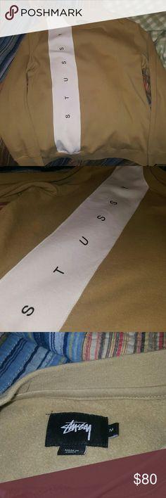 Stussy Crewneck SUPER soft crewneck. I'm a medium and it's kinda baggy. Stussy Jackets & Coats