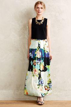 Kmeria Maxi Skirt #anthropologie #anthrofave