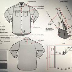 Camisa detalhes