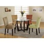 Coaster Furniture - Cross 5 Piece Dining Set - 101490-101494-5set  SPECIAL PRICE: $575.99