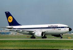 Lufthansa D-AICD Airbus A310-203 aircraft picture