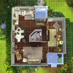 Home Layout Plans 637259416006276271 - magnoliidae — i ended up not using this house, so i figured i'd… Source by Sims 3, Lotes The Sims 4, Sims Four, Sims 4 House Plans, Sims 4 House Building, Sims 4 Houses Layout, House Layouts, Sims Free Play, Play Sims