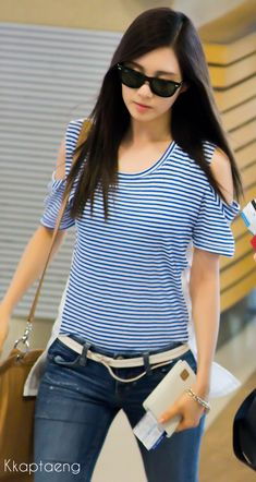 Airport Fashion - seohyun-girls-generation Photo