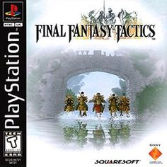 Final Fantasy Tactics one of the few games that I actually finished. Playing it again on my Vita.