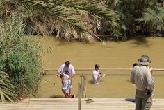 Traditional Baptismal Site Of Jesus On The Jordan River