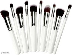 Checkout this latest Makeup Brushes Product Name: *Standard Choice Makeup Brush Set ( Set Of 10 Pieces )* Product Name: Unique Synthetic Makeup Brush Set Product Type: Makeup Brush Set  Material: Synthetic Color: White Description: It Has 10 Pieces Of Makeup Brushes Country of Origin: India Easy Returns Available In Case Of Any Issue   Catalog Rating: ★3.8 (1180)  Catalog Name: Premium Choice Makeup Accessories Products Vol 3 CatalogID_244266 C167-SC2026 Code: 442-1855105-645