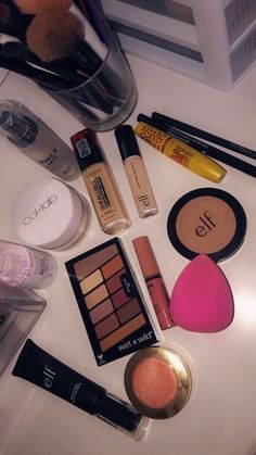 Look at the webpage to read more about everyday makeup - Best Make-Up Drugstore Makeup, Diy Makeup, Makeup Cosmetics, Makeup Tips, Beauty Makeup, Basic Makeup, Face Makeup, Everyday Make Up, Eye Make Up