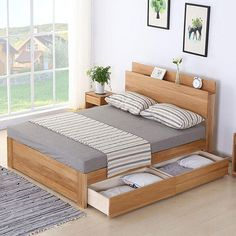 Bedroom simple design large size of bedroom design simple bedroom Wardrobe Design Bedroom, Bedroom Bed Design, Bedroom Furniture Design, Home Room Design, Bed Furniture, Simple Bed Designs, Bed Designs With Storage, Double Bed Designs, Wood Bed Design