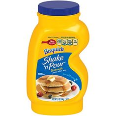 Bisquick Betty Crocker Bisquick Shake n Pour Buttermilk Pancake Mix  51 oz -- Want additional info? Click on the image.(This is an Amazon affiliate link and I receive a commission for the sales)