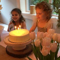 The cake. Make a wish