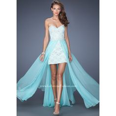Prom Dresses 2014 High Low Sweetheart Dress Lace With Detachable Long Chiffon Skirt , You will find many long prom dresses and gowns from the top formal dress designers and all the dresses are custom made with high quality Homecoming Dresses 2014, High Low Prom Dresses, Prom Dresses Blue, Strapless Dress Formal, Evening Dresses, Short Dresses, Sexy Dresses, Party Dresses, Graduation Dresses