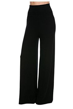 G2 Chic Womens Printed High Waist Bohemian Palazzo PantsBTMPNTBLKM -- Be sure to check out this awesome product.