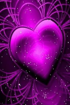 Who can resist a blue heart. Purple Love, All Things Purple, Shades Of Purple, Purple Hearts, Purple Stuff, Glitter Hearts, Heart Wallpaper, Love Wallpaper, Whatsapp Wallpaper