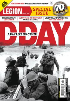 D-DAY: A DAY LIKE NO OTHER: The last of Canada's D-Day veterans are in their nineties. In June, many of them will visit Juno Beach to remember comrades who never made it out of the water or off the beach. They will also commemorate the sacrifices made to gain a valuable foothold on Hitler's Fortress Europe. In Seven Days In June, award-winning author Mark Zuehlke describes Canada's part in the Normandy Invasion. (Legion Magazine - May / June 2014)