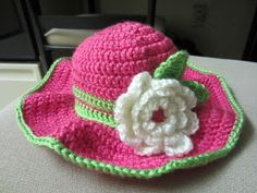 Olena's Crafts: Floppy Brim Child Hat (Soo Cute!) - Free Crochet Pattern