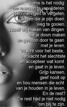 Waarheid.....L.Loe Respect Quotes, Dutch Quotes, Focus On Yourself, Love Life, Words Quotes, Best Quotes, Sad, Positivity, Thoughts