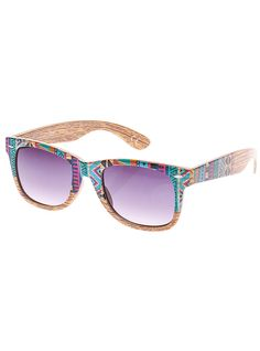 Printed sunglasses from Claire's