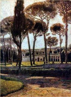 Aleksander Gierymski, villa Borghese on ArtStack #aleksander-gierymski #art