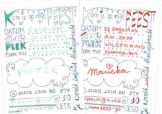 Voorbeeld uitnodiging Bullet Journal, Sewing, Prints, Kids, Young Children, Dressmaking, Boys, Couture, Fabric Sewing