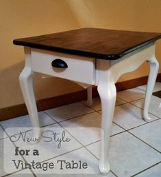 New Style for a Vintage Table