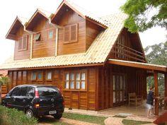 casa troco de madeira - Pesquisa Google