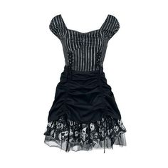 The Nightmare Before Christmas Short dress ($43) ❤ liked on Polyvore featuring dresses, long-sleeve mini dress, tulle cocktail dresses, cut out dresses, blue cocktail dresses and mini dress