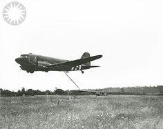 The glider snatch WWII