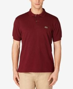 Lacoste Classic Chine Polo Shirt - Red 3XL