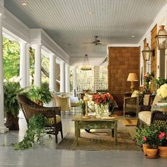 Porch in Atlanta Georgia
