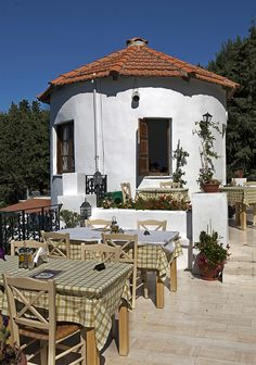 Greek restaurant in Zia on the Island of Kos! by Lawrence G Photos! on Flickr.