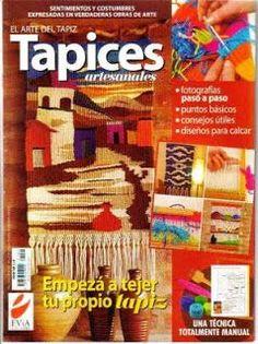 Tejidos y Telares: Revista de Tapices Más Loom Weaving, Hand Weaving, World Tapestry, Tapestry Loom, Web Gallery, Arts And Crafts, Diy Crafts, Weaving Projects, Bargello