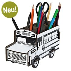 Werkhaus Shop - Stiftebox Schoolbus - You are the artist