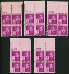 1940 3c US Postage Stamps Scott 891 Cyrus Hall McCormick Lot of 20
