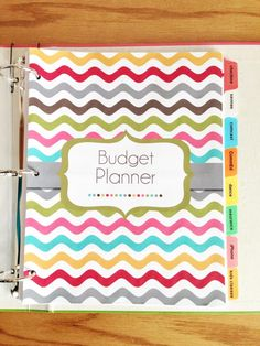 The Polka Dot Posie: Month 1: Creating a Budget Planner & Making it Work For You