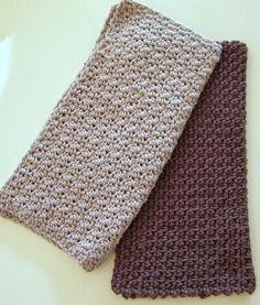strikkede karklude opskrift - Google-søgning Beautiful Crochet, Couture, Crochet Projects, Knit Crochet, Diy Crafts, Knitting, Pattern, How To Make, Inspiration