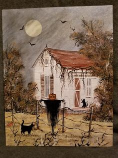 The Harvester Come To Life - Halloween Retro Halloween, Halloween Kunst, Halloween Artwork, Halloween Prints, Halloween Images, Halloween Wallpaper, Halloween Horror, Halloween Cards, Holidays Halloween