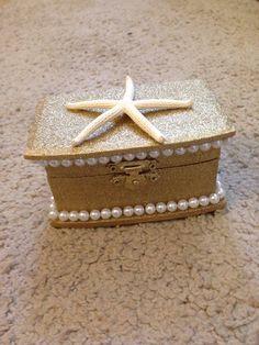 Sorority pin box... Min the starfish!